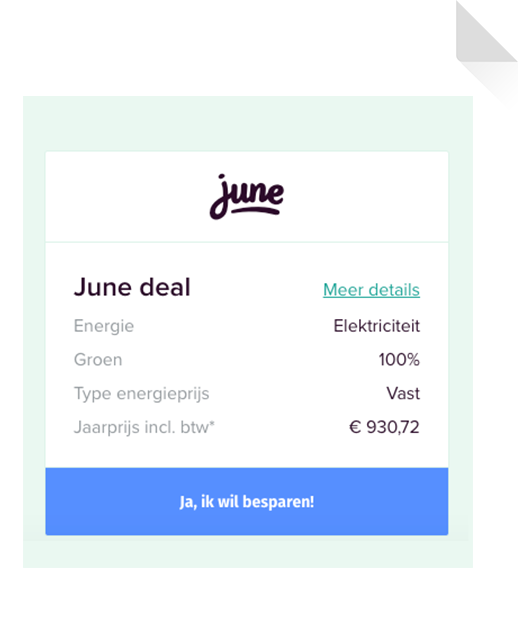 Duidelijke Deals voor energie