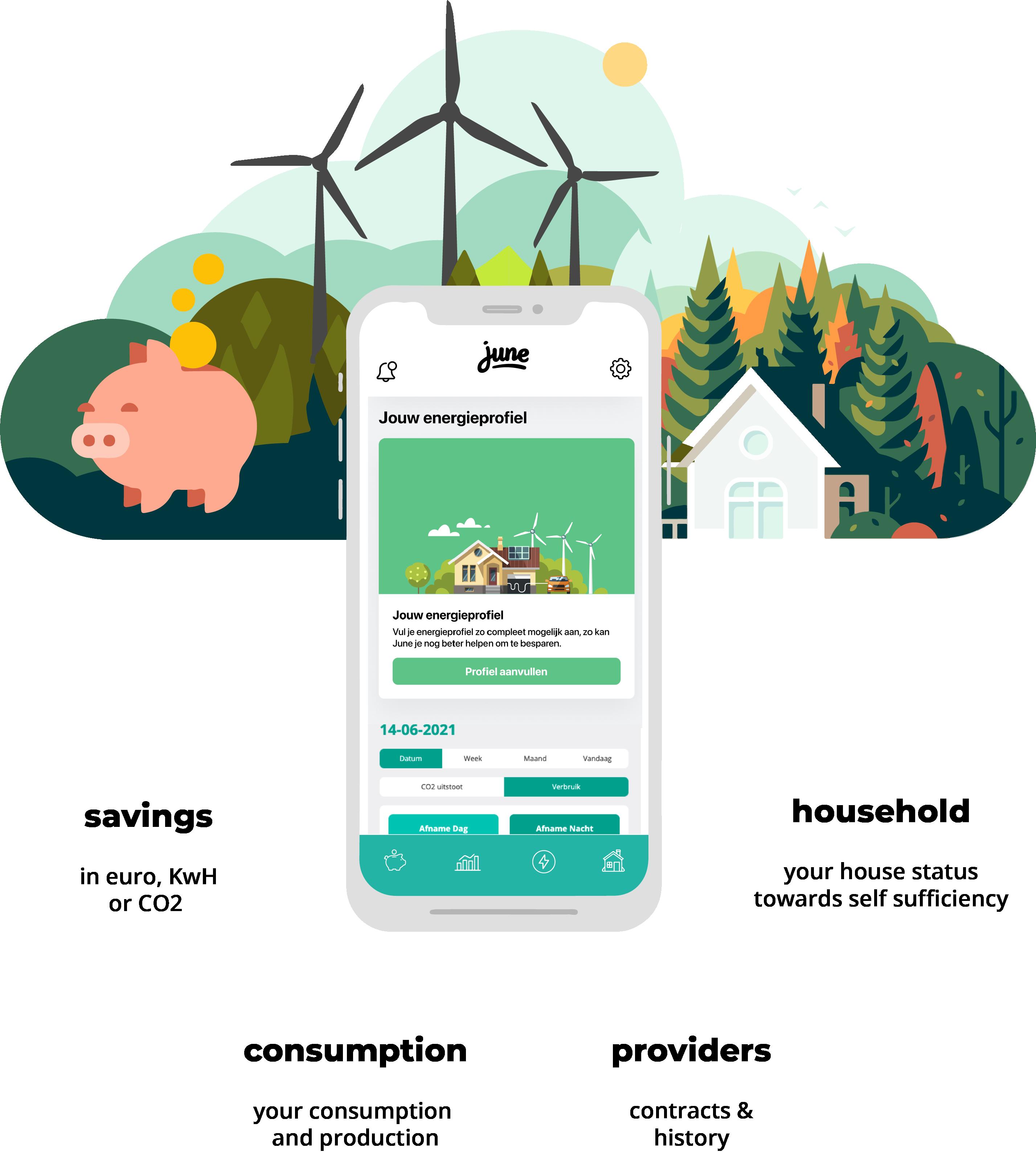 June platform interface